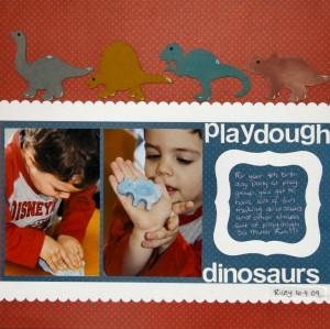 Playdough Dinosaurs