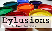 Dylusions logo - messy paint2
